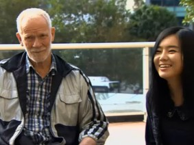 North Korean defector Hyeonseo Lee reunited with the man who saved her family