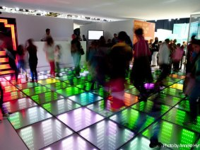 Energy from your feet: When sidewalks and dance floors become energy sources