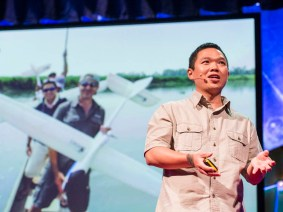 Conservation drones in the field: Lian Pin Koh at TEDGlobal 2013