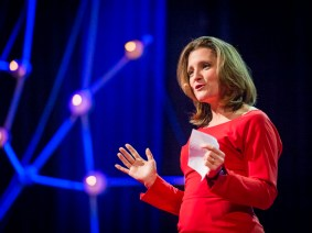 The age of global plutocracy: Chrystia Freeland at TEDGlobal 2013