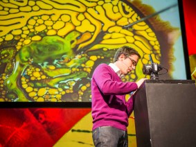 Whisky in a jar: TEDGlobal 2013 with Fabian Oefner