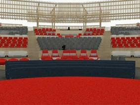 The making of the TED2014 theater: an early view
