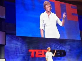 A dream shared at TEDMED: Diana Nyad swims from Cuba to Florida without a shark cage