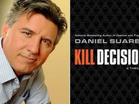 """These stupid little bots outperformed any system I've ever seen"": an excerpt from Daniel Suarez's thriller, Kill Decision"