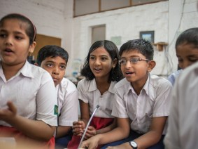 A School in the Cloud among the mangrove trees: Sugata Mitra opens his first independent learning lab in India