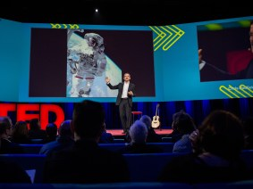 The scariest thing you've ever done: Chris Hadfield at TED2014