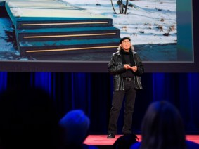 A deconstructed glass house: Bob Greenberg at TED2014