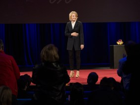 Going home after 'Eat Pray Love': Elizabeth Gilbert at TED2014