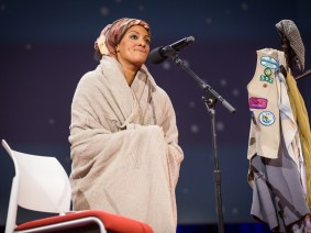 Multiple personalities take the stage: Sarah Jones at TED2014