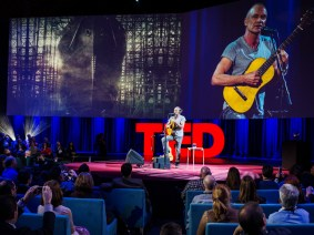 We're all in the same boat: Sting at TED2014
