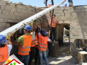 """In the middle of chaos, a bright side"": Iraq Builders celebrates one year of repairing homes around Baghdad"