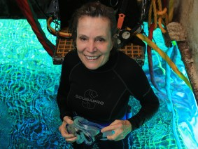 31 days underwater: A TED Prize winner dives deep to visit Fabien Cousteau as he aims to beat his grandfather's record