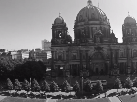 Drone's-eye view of Berlin: Watch the TEDSalon intro video