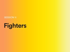 Fighters: A sneak peek of session 11 at TEDGlobal 2014