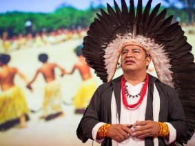 The rainforest is for every human being: Tashka Yawanawá at TEDGlobal 2014