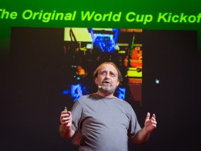 The story of an impossible kick: Miguel Nicolelis live at TEDGlobal 2014