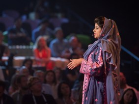 Embroidery for empowerment: A Q&A with Khalida Brohi that reveals much more of her incredible story