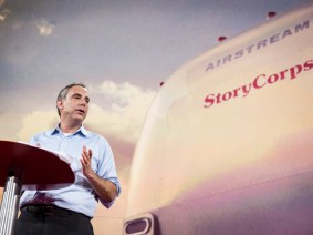 Dave Isay shares his TED Prize wish: to take StoryCorps global with an app anyone can use