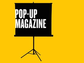 The pages of a magazine brought to life: Meet the guest curators of Pop-Up Magazine