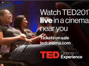 These TED2017 speakers' talks will be broadcast live to cinemas April 24 and 25