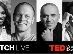 Experience the TED2017 conference in movie theaters, with other curious minds