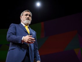 Facing the future without fear, together: Rabbi Lord Jonathan Sacks speaks at TED2017