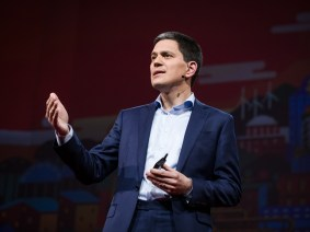The duty we owe to strangers: David Miliband speaks at TED2017