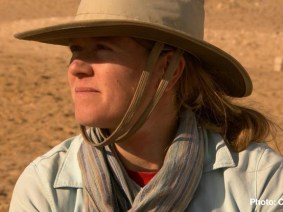 "TED Prize winner Sarah Parcak unearths ancient mysteries on ""60 Minutes"""