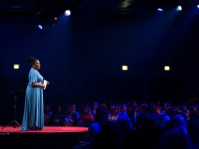 Propelled by possibility: Tarana Burke speaks at TEDWomen 2018