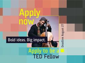 Apply to be a TED2020 Fellow