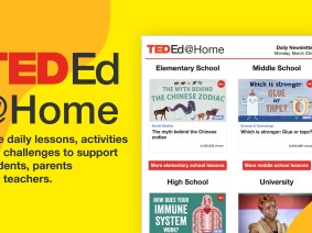 How TED-Ed is helping families, students and teachers navigate the COVID-19 pandemic