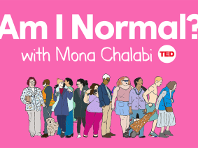 Am I Normal? with Mona Chalabi, a new podcast from the TED Audio Collective, premieres October 18