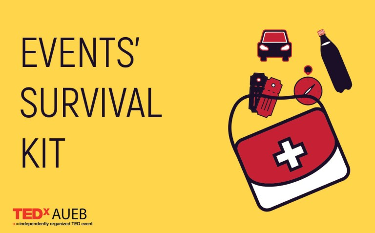 TEDxAUEB 2018: The survival kit