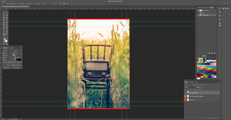 Drag and Drop Image Into Photoshop