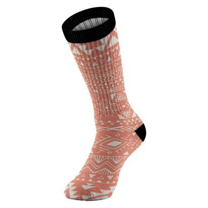 Navajo Print Sock View 04