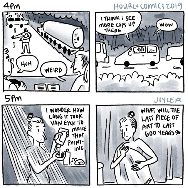 hourly comics 2019, 4pm-5pm