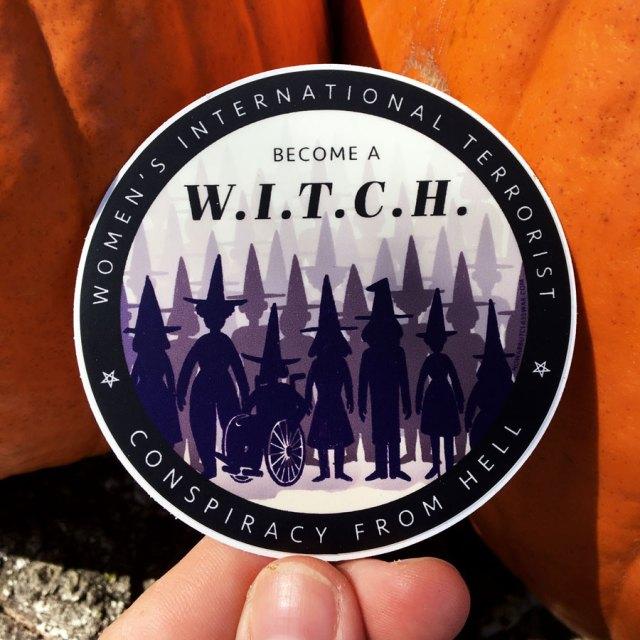 W.I.T.C.H. sticker