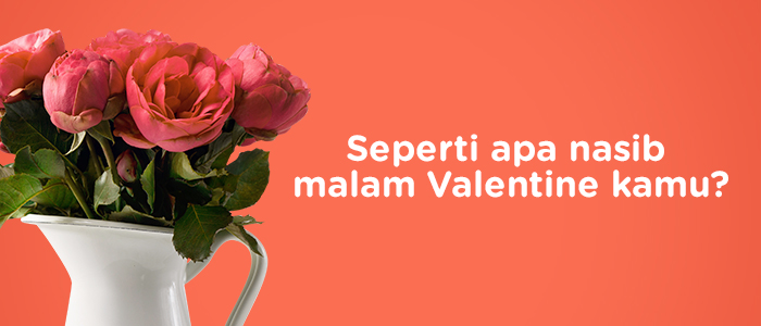 Nasib valentine mu by Tees.co.id