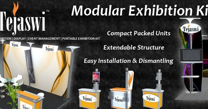 Unique Modular Kits for Exhibitions & Displays…