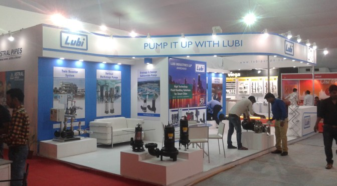 21st Plumbing Conference Award Winning Exhibition Stand Design and Fabrication