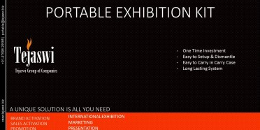 Tejaswi Portable Exhibition Kit Solution