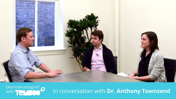 Temboo interviews Dr. Anthony Townsend