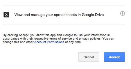 Google Permissions