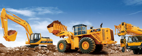 LiuGong construction equipment