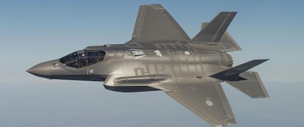 Lockheed Martin F-35 join strike fighter