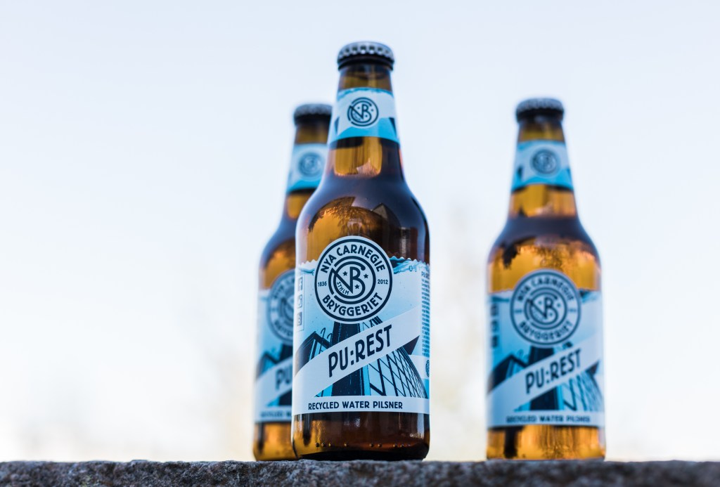 PU:REST, a beer made from treated wastewater
