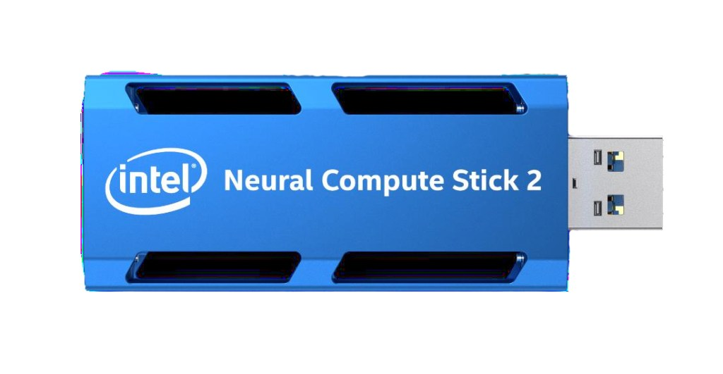 Intel Neural Compute Stick 2 machine learning hardware device