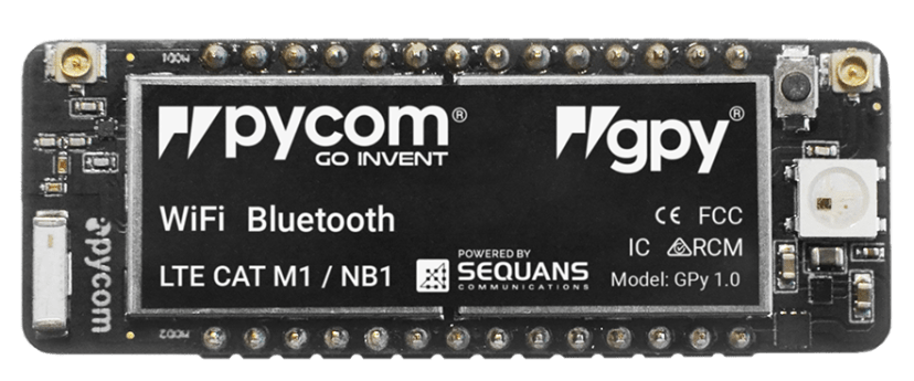 Pycom GPy board
