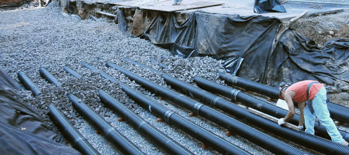 Perforated pipe system