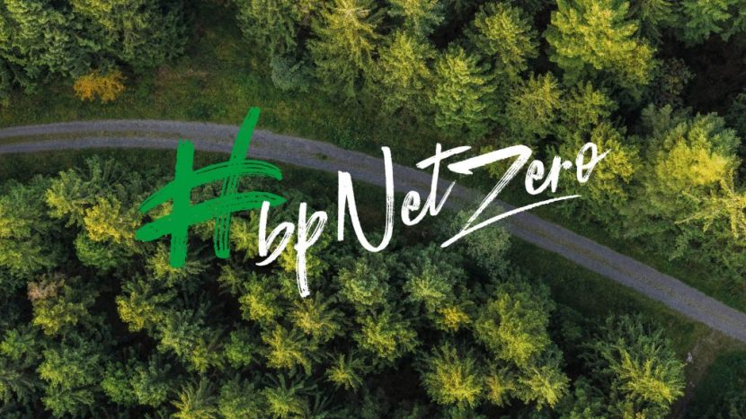 BP Net Zero promotional image